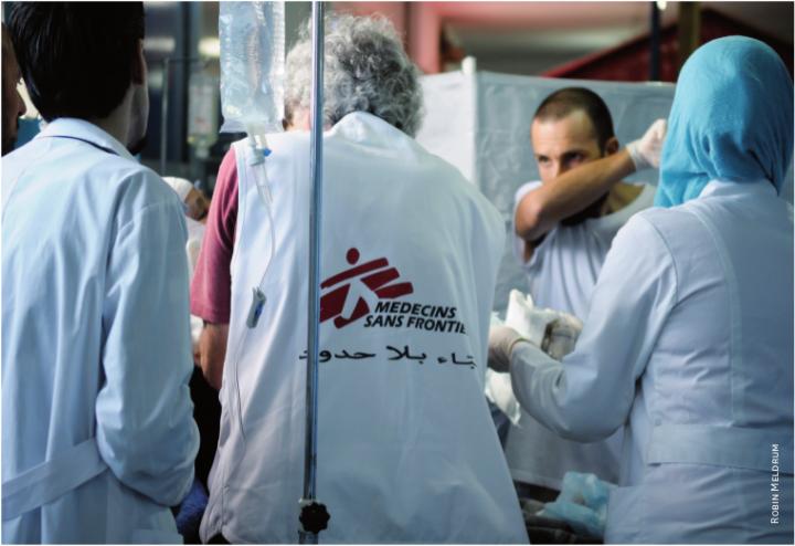 MSF in Siria