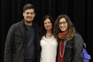 Pasquale e Alessia con Pamela Yates