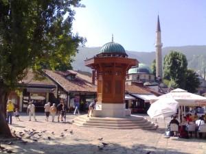 Bascarsija, Sarajevo (Foto di G. Pisa)