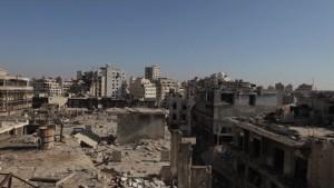 Distruzioni in Siria